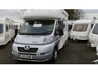 ** SAVE £2000 ** 2012 AUTOCRUISE STARFIRE 2-BERTH MOTORHOME ** AS NEW ** ONLY 3700 MILES **
