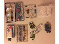 Great Selection of Art Materials + Paper - perfect for starting any art course or hobby!