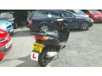Direct bikes 125 moped motorbike low mileage with 11 month mot (offers)