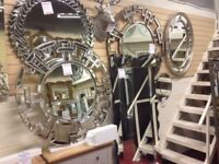 Need a new mirror today, we've 400 different mirrors in stock from £19 to £499 OPEN SUNDAY 1-3pm