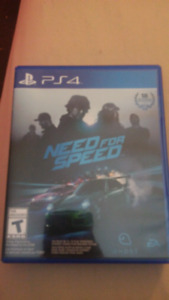 Need for speed ps4 pretty well new