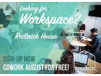 Fixed Desk Space Available
