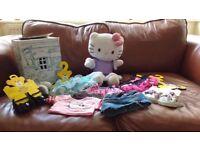 Build a Bear Hello Kitty Teddy & Clothes