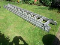 Extension ladders proper builders ladders ,