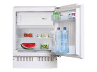 NEW in Box Amica UM130.3 Built-under Integrated Fridge With Ice Box White