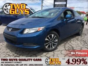 2013 Honda Civic EX SUNROOF ALLOYS A/C