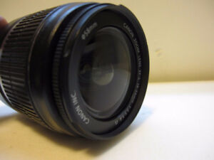 Canon EF-S 18-55mm f/3.5-5.6 II IS Lens