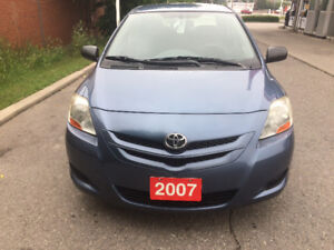 Accident free 2007 Toyota Yaris extremely  clean