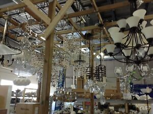 New light fixture prices range from $50 AND UP @HFHGTA - Markham