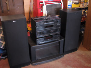 COMPLETE and AWESOME SONY SOUND SYSTEM - ONLY $100 TAKES ALL!
