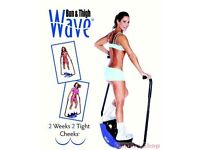 Wave bum and thigh machine
