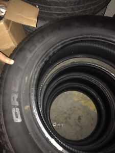 4 ALL SEASON TIRES $225 FOR ALL 4  225/60R/17