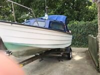 Fast 16ft mayland cabin/day fishing boat