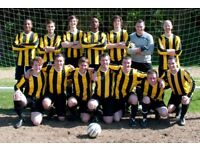 Men's Amateur 11 aside Football Club (Saturday) looking for new players