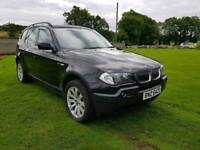 2004 BMW X3 2.5 PETROL WITH LPG.MOTED TO AUGUST 2018.POSSIBLE PART EXCHANGE