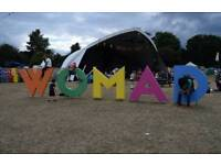 ***** WOMAD FESTIVAL TICKETS*****