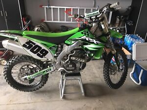 Mint 2010 kx450f with ownership
