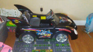 Batman power wheels car
