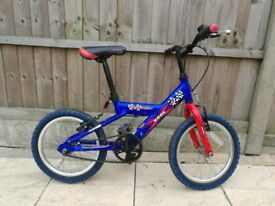 """14"""" Raleigh Blue Boy's bicycle for sale"""