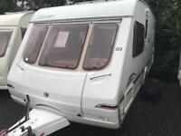 Swift fairway 550 2004 fixed bed with motor mover touring caravan