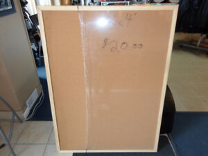 Cork bulletin boards NEW 3' x 4'  Cheap!  recycledgear.ca