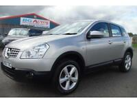 09 NISSAN QASHQAI 1.5 DCI ACENTA 6 SPEED METALLIC GOLD