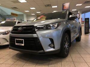 2017 Toyota Highlander SE AWD, LEATHER, MOONROOF, NAVIGATION