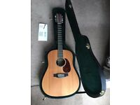 Martin D12X1AE complete with Martin hard case