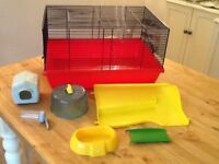 Hamster/mouse cage.
