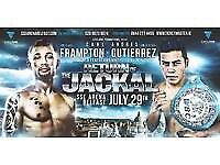 4 x £40 Carl Frampton tickets for sale.. face value