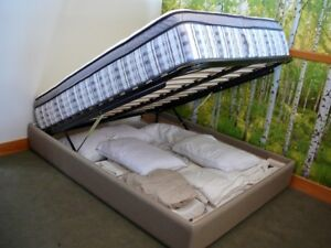 Double storage bed