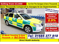 2009 - SKODA OCTAVIA 2.0TDI RAPID RESPONSE VEHICLE 5 DOOR ESTATE (GUIDE PRICE)