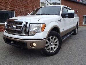 2012 Ford F-150 King Ranch, Crew Cab , Cuir, 4X4, Full Garantie!