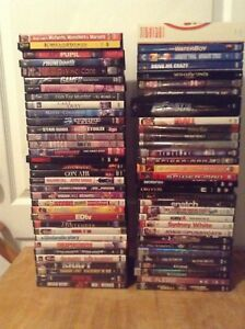 Assorted DVDs (package deal )