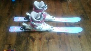 childrens Skis,Bindings and Boots