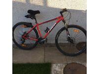Mountain bike frame 18 1/2 inches 46 cm
