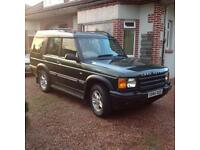 Land Rover Discovery 2001 Y,Low Mileage