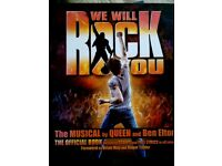 We Will Rock You Script and Lyrics-£3