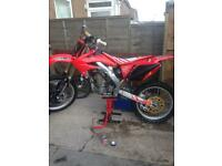 Crf 250 2008 twin pipe (not kxf ktm yzf)