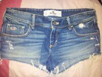 Hollister shorts waist 26