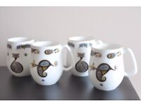 Royal Tara Set of 4 Mugs