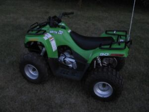 Arctic Cat 90cc Kid's Quad ATV