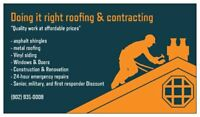 Roofing Siding Windows Doors & Renovations