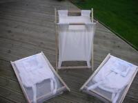 CLOTH LAUNDRY HAMPERS