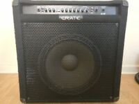 "Crate BT220 bass amp combo, 220W, 15"" speaker, 2 channels with tuner"
