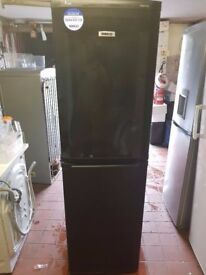 Black Beko Fridge Freezer (6 Month Warranty)