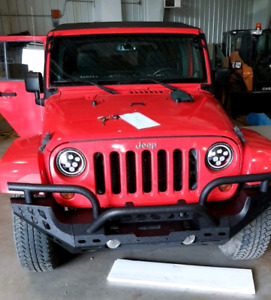 2013 JK Jeep Wrangler Unlimited 4 door Sahara