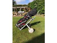 Golf Bag, Trolley & Golf Clubs