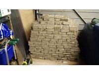 580+ Reclaimed Bradstone type paving blocks