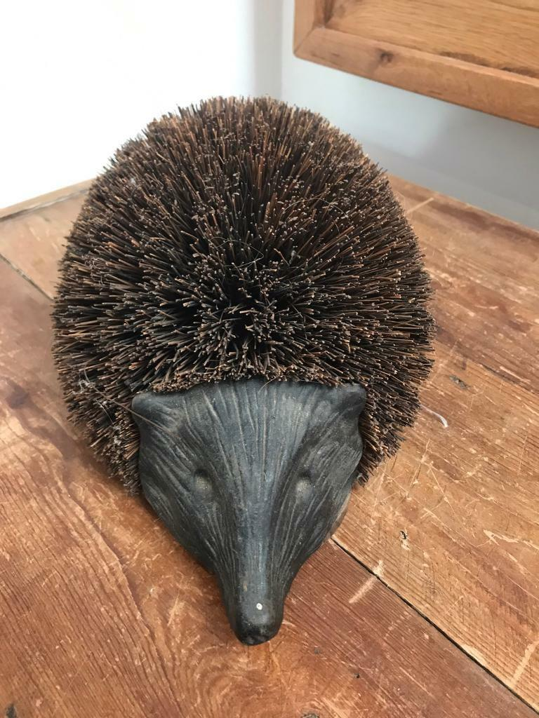 Lovely Hedgehog Shoe Boot Scraper In Ruddington